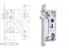 Zámek Hobes K 106 A 72/60 vložkový ŽELEZÁŘSTVÍ - Zámky - Zadlabávací zámky - Zadlabávací zámky na vložku, na klíč - Zadlabávací zámky na vložku rozteč 72