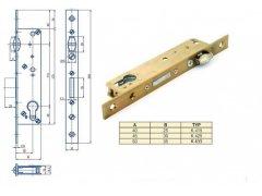 Zámek Hobes K 415 se zádlabem 40-50 mm ŽELEZÁŘSTVÍ - Zámky - Zadlabávací zámky - Zadlabávací zámky speciální provedení