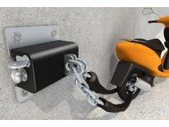 X safety BOX III vč.řetězu 3m/prům.8mm kalený pro X safety BOX III MOTO A CYKLO - Motozámky - Do 2000,- kč