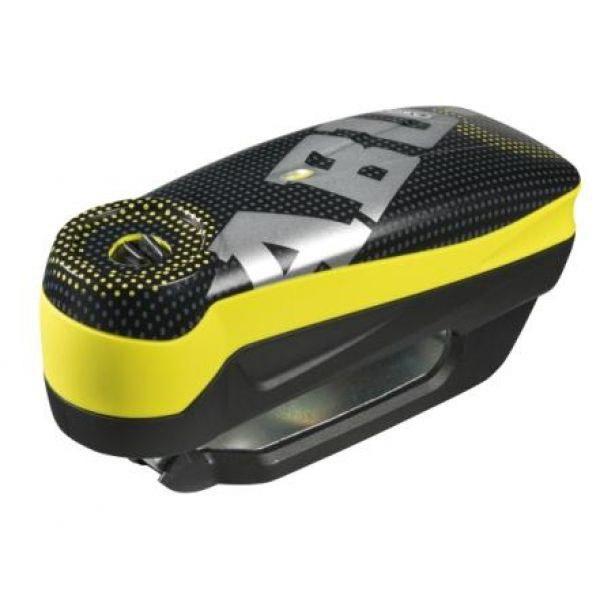 ABUS 7000 Detecto RS 1 pixel yellow zámek s alarmem na motorku