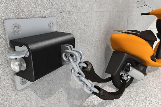 X safety BOX III vč.řetězu 3m/prům.8mm kalený pro X safety BOX III
