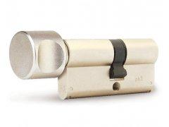 Vložka Fab 1002 s knoflíkem (olivou) 4BT DVEŘE - Cylindrické vložky - Cylindrické vložky knoflíkové - Do 1200,-